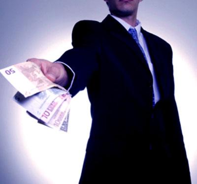 поступление денег